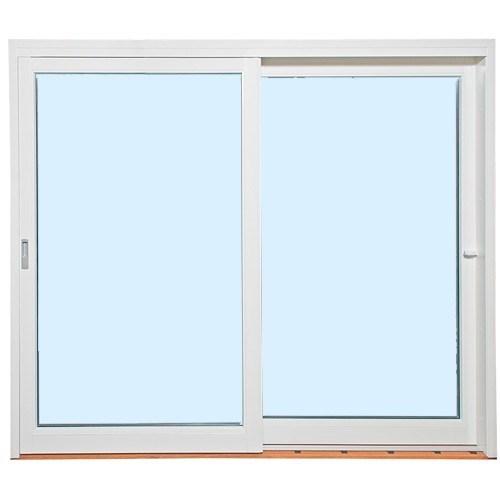 Fasadeparti Aluminium Med skyvedør - 2-felt