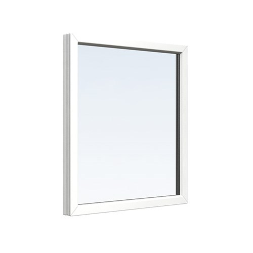 Fast fönster PVC 14, 12, 3-glas 0,86