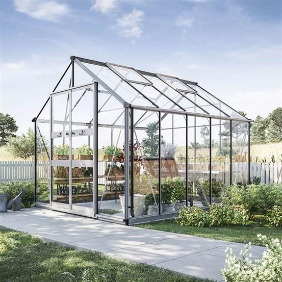 Omtalade Odla 8,2 - 9,8 m² Växthus från skånskabyggvaror.se FB-29