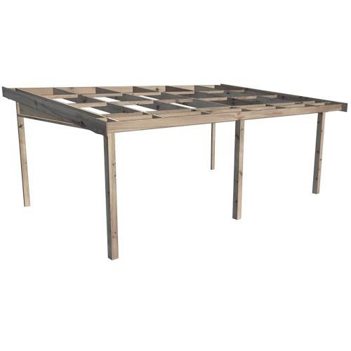 Köp Pulpettaksstommar Okapad för fasadmontage
