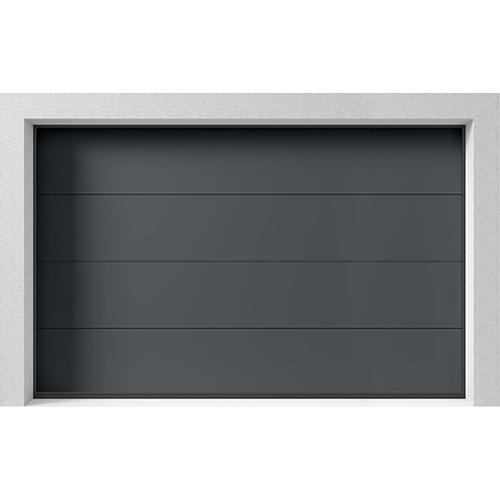 Garageport Takskjutport Stil Antracit, 3000x2000