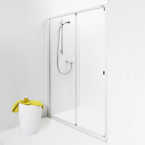 1250 mm klarglas IDO Showerama 8-1 1250 mm, Klarglas