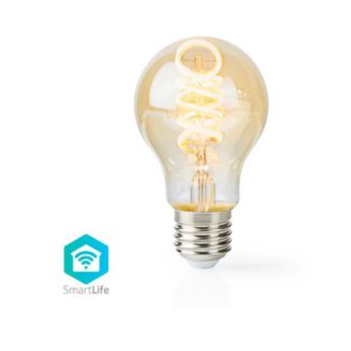 Nedis WiFi Smart LED-lampa  Varmvitt - kallvitt | E27 | 5.5W