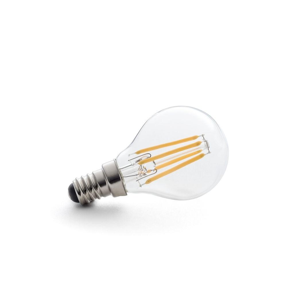 45mm klot 4W 230V Konstsmide Glödlampa LED E14 Klar