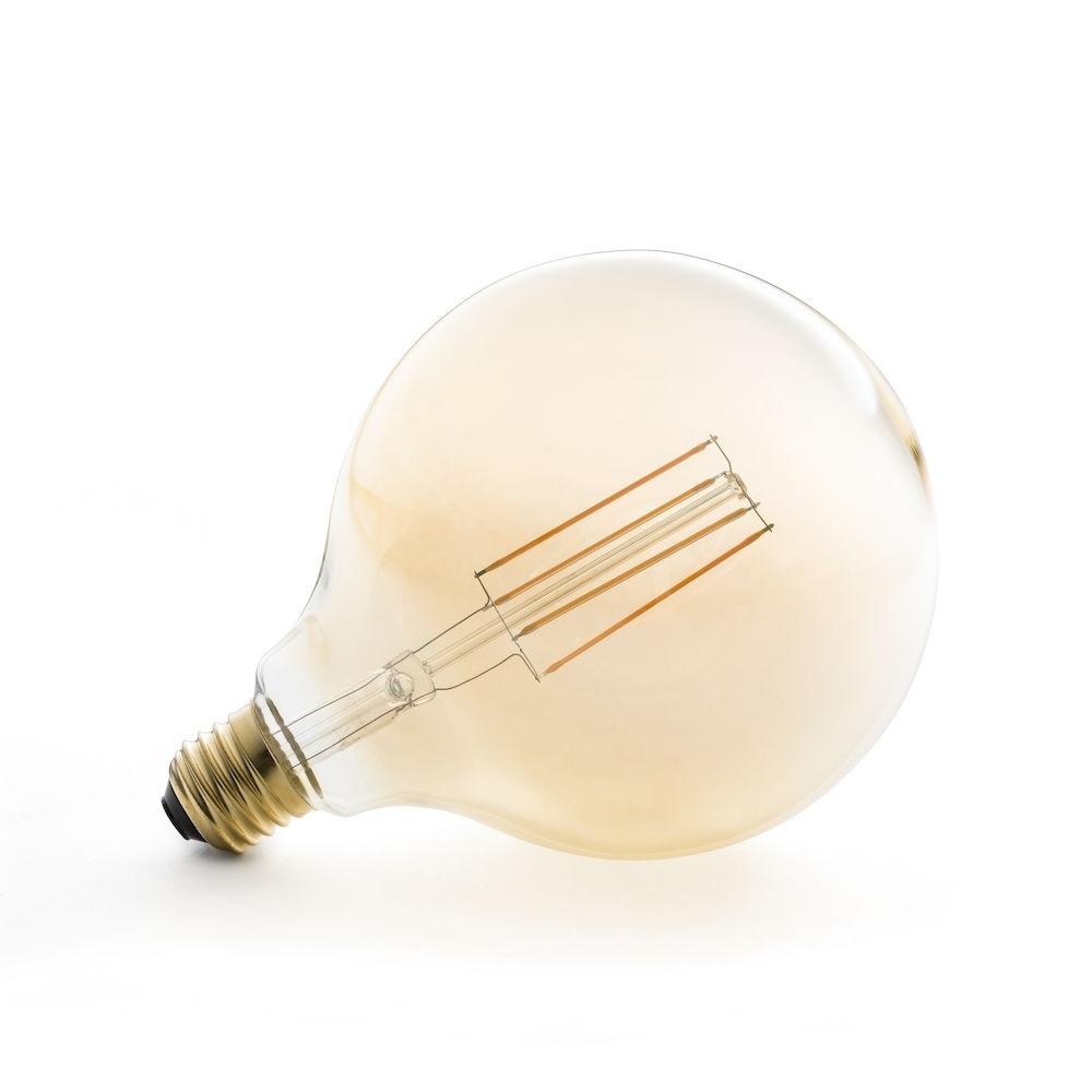 125mm klot 4W 230V Konstsmide Glödlampa LED E27 Amber, 574 mm