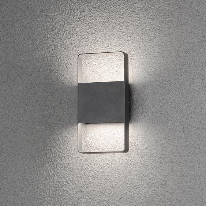 2x6W LED Konstsmide Matera vägglykta