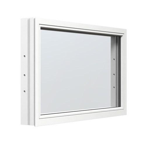 Fast fönster Energi Aluminium 17, 9, Vit