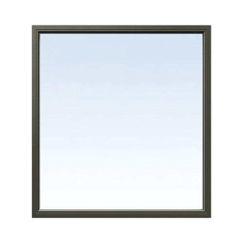 Fast fönster Energi Aluminium 7, 26, Olivgrön