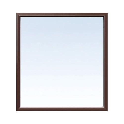 Fast fönster Energi Aluminium 8, 25, Nötbrun
