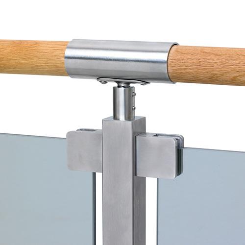 För montering av glasräcke Mittstolpe Bertil