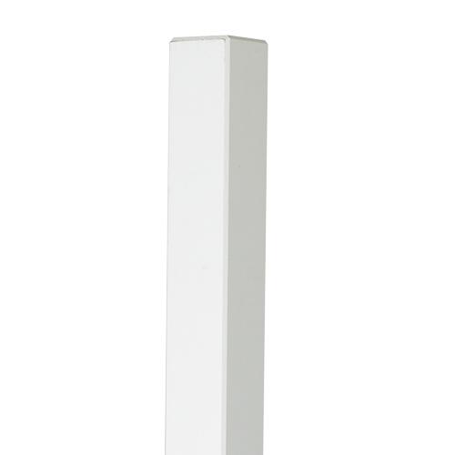 95 x 95 mm Stolpe Vitmålad 1700 mm
