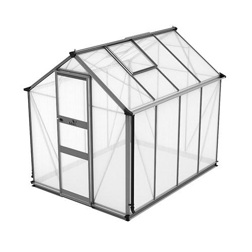 Växthus Odla 4,9 m², Aluminium, Kanalplast thumbnail