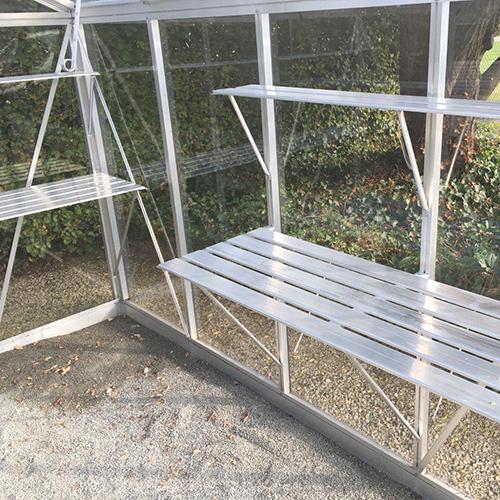 Till växthus och orangeri Oas Hylla 23 cm, Aluminium