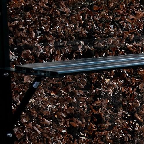 Till växthus och orangeri Oas Hylla 23 cm, Mörkgrön