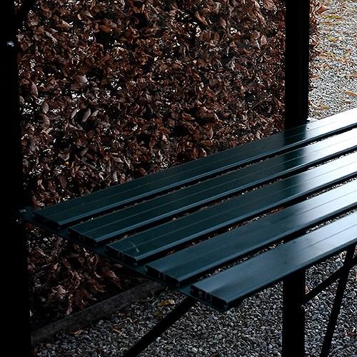 Till växthus och orangeri Oas Hylla 53 cm, Mörkgrön