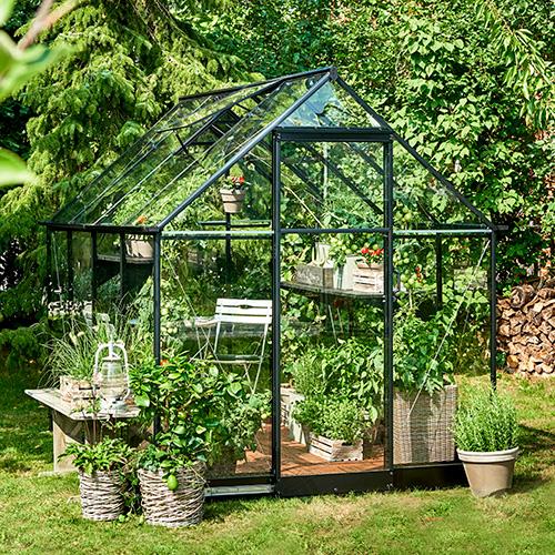 Välkända Qube Växthus från skånskabyggvaror.se EY-23
